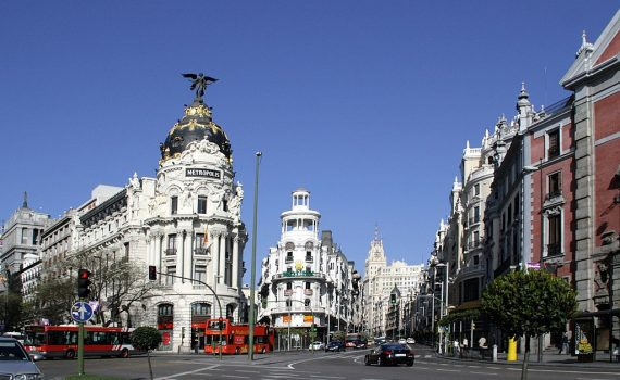 Madrid, the city that never sleeps.